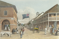 View Of Harbour St, Kingston, Looking Eastward
